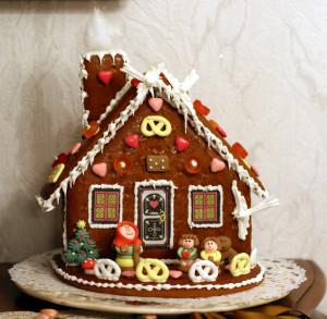 La maison en pain d'épices