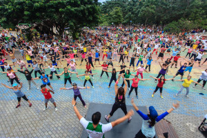 Zumba at People's Park Davao City