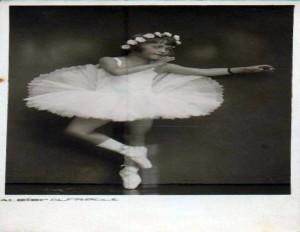 Vintage Postcard ~ Ballet Dancer