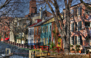 GeorgeTown Houses By The C&O Canal - Washington DC